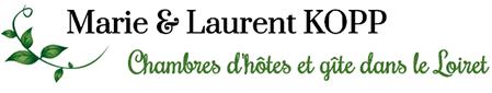 Chambres d'hôtes et gîte dans le loiret - Marie & Laurent KOPP