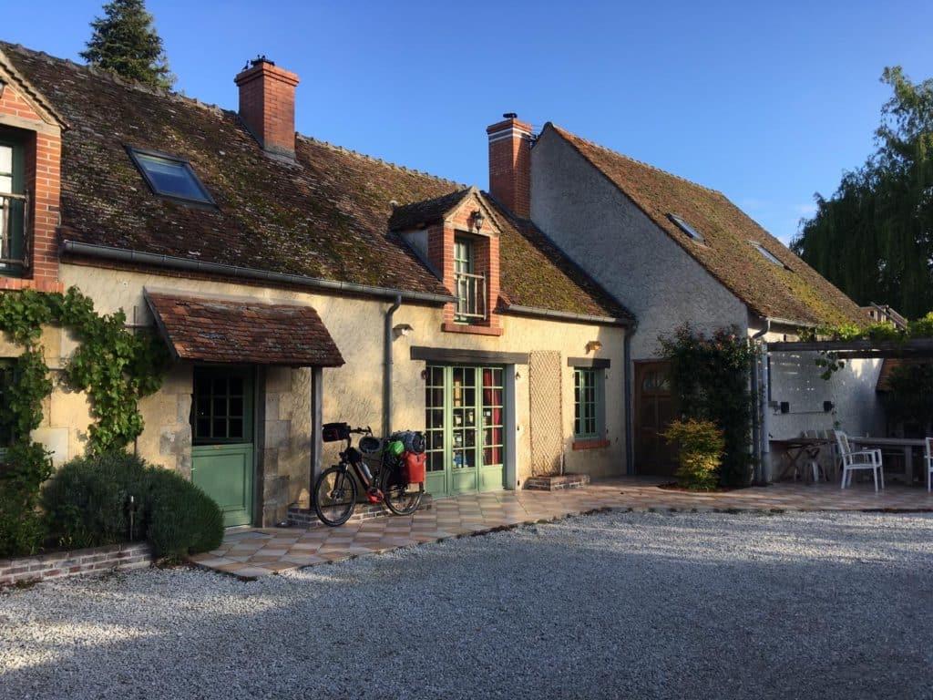 maison d'hôtes cerviña départ de la loire à vélo