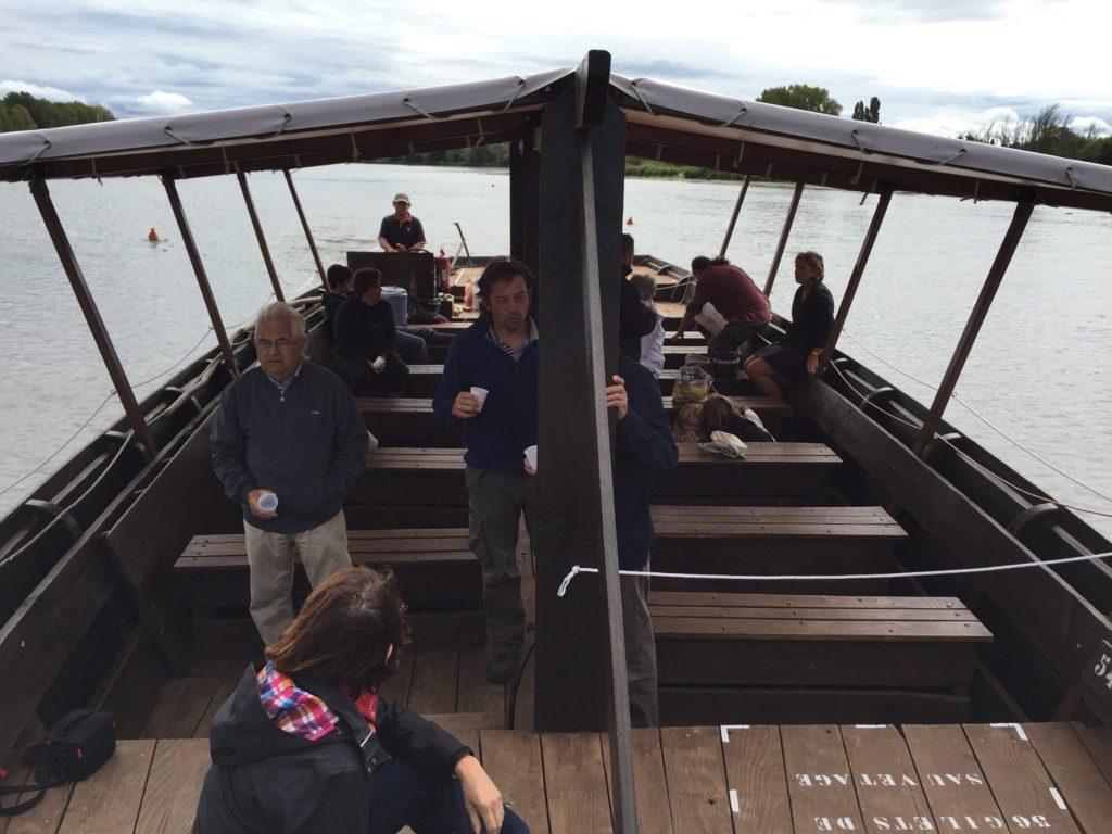 les passeurs de Loire promenade en gabare et en toue