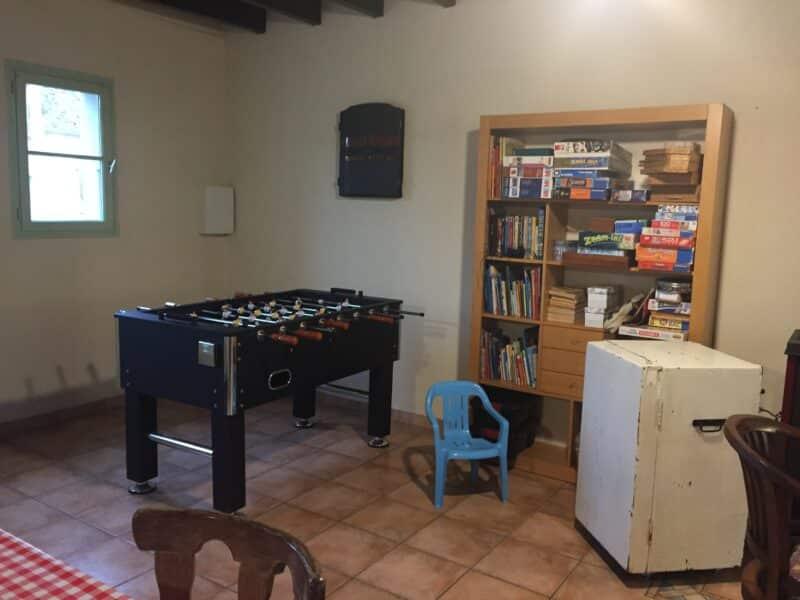 la pièce à vivre de la maison d'hôtes Cerviña